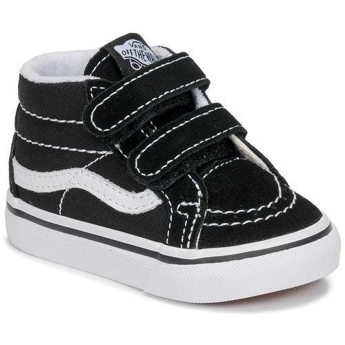 Shoes Children Hi top trainers Vans TD SK8-MID REISSUE V Black / White