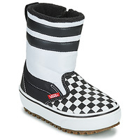 Shoes Children Snow boots Vans YT SLIP-ON SNOW BOOT MTE Black / White