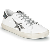 Shoes Women Low top trainers Le Temps des Cerises CITY White / Silver
