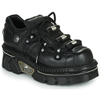 Shoes Low top trainers New Rock M-233-C5 Black