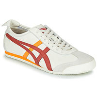 Shoes Low top trainers Onitsuka Tiger MEXICO 66 White / Red / Yellow