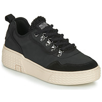 Shoes Women Low top trainers Palladium Manufacture EGO 05 WARM Black