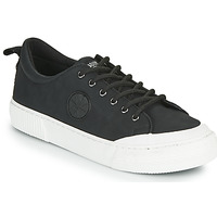Shoes Women Low top trainers Palladium Manufacture STUDIO 02 Black