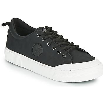 Shoes Women Low top trainers Palladium Manufacture STUDIO 02 Black