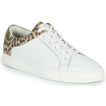 Shoes Women Low top trainers Les Tropéziennes par M Belarbi Louane White
