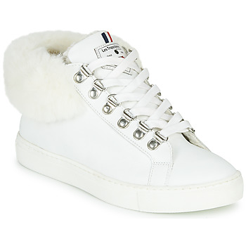 Shoes Women Hi top trainers Les Tropéziennes par M Belarbi Lenya White