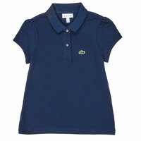 Clothing Girl Short-sleeved polo shirts Lacoste PJ3594-166-B Marine