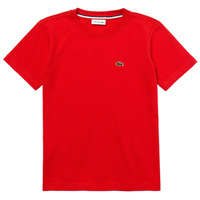 Clothing Boy Short-sleeved t-shirts Lacoste TJ1442-F8M-B Red