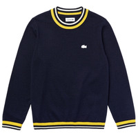 Clothing Boy Jumpers Lacoste AJ1352-QRN-C Marine
