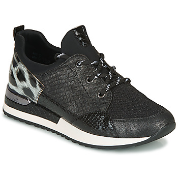 Shoes Women Low top trainers Remonte Dorndorf R2503-45 Black / Leopard