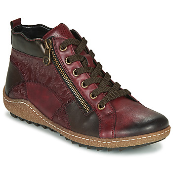 Shoes Women Hi top trainers Remonte Dorndorf R4790-35 Bordeaux