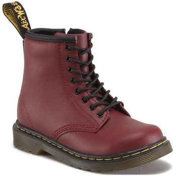 Shoes Women Mid boots Dr Martens 1460 T Softy T Cherry Red Softy T Red