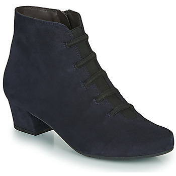 Shoes Women Ankle boots Perlato JAMILLO Blue
