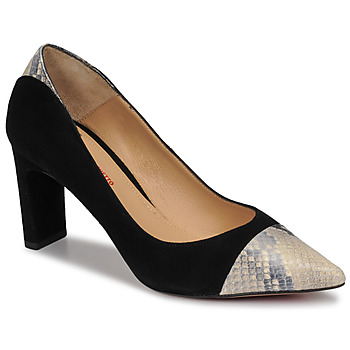 Shoes Women Heels Perlato JAMIRI Black / Beige