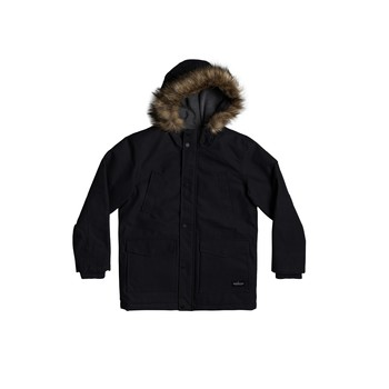 Clothing Boy Parkas Quiksilver STORM DROP Black