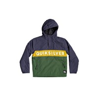 Clothing Boy Jackets Quiksilver TAZAWA Multicolour