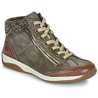 Shoes Women Mid boots Rieker EMPARASSA Brown