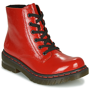 Shoes Women Mid boots Rieker 76240-33 Red