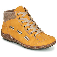 Shoes Women Mid boots Rieker L7543-69 Yellow