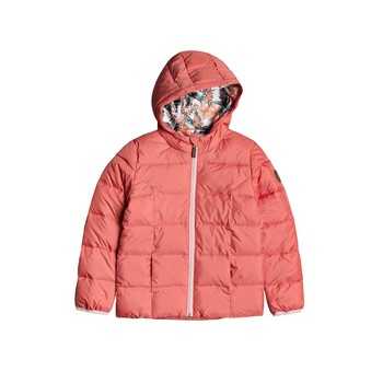 Clothing Girl Duffel coats Roxy DAY DREAMING Pink