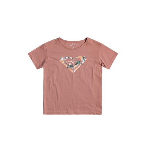 Clothing Girl Short-sleeved t-shirts Roxy DAY AND NIGHT Pink