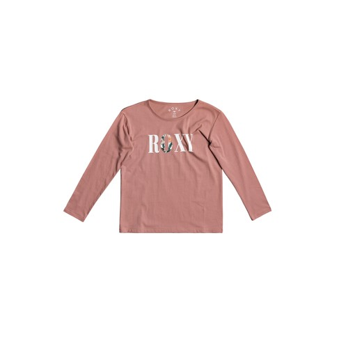 Clothing Girl Long sleeved tee-shirts Roxy THE ONE Pink