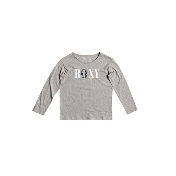 Clothing Girl Long sleeved tee-shirts Roxy THE ONE Grey