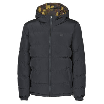 Clothing Men Duffel coats Urban Classics TB3806 Black / Kaki