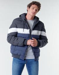 Clothing Men Duffel coats Urban Classics TB3818 Blue / Marine