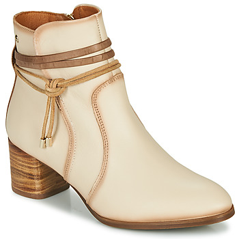 Shoes Women Ankle boots Pikolinos CALAFAT W1Z Beige / Brown