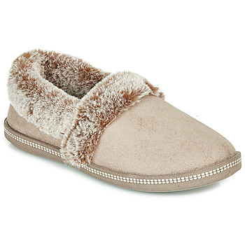Shoes Women Slippers Skechers COZY CAMPFIRE Beige