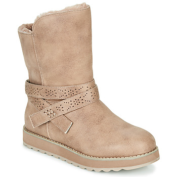 Shoes Women Mid boots Skechers KEEPSAKES 2.0 Taupe