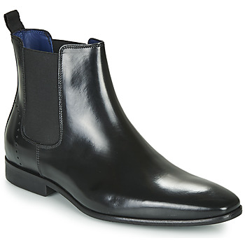 Shoes Men Mid boots Azzaro JAGER Black