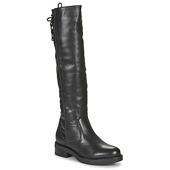 Shoes Women Thigh boots Café Noir JOULLE Black