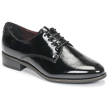 Shoes Women Derby Shoes Tamaris JEANY Black