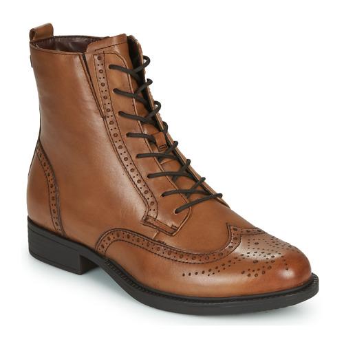 Shoes Women Mid boots Tamaris SUZAN Brown