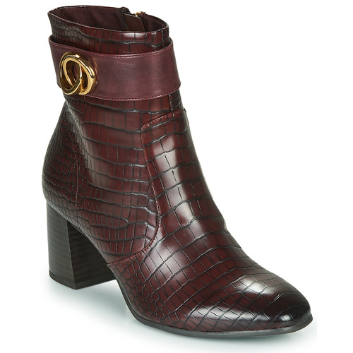 Shoes Women Ankle boots Tamaris SOLO Brown