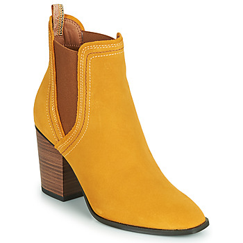 Shoes Women Ankle boots Tamaris KINNIE Yellow