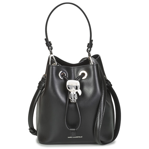 Bags Women Small shoulder bags Karl Lagerfeld K/IKONIK BUCKET BAG Black