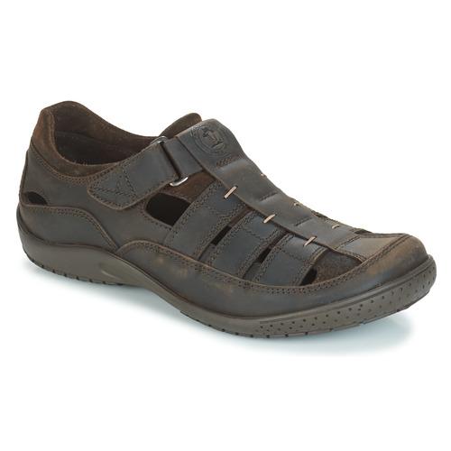 Shoes Men Sandals Panama Jack MERIDIAN Brown