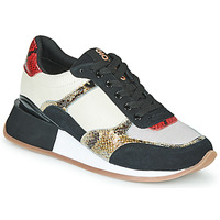 Shoes Women Low top trainers Gioseppo KIROV Black / White