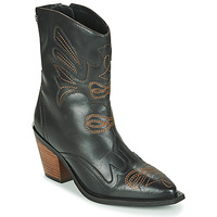 Shoes Women Ankle boots Gioseppo SERAING Black / Brown