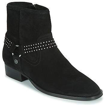 Shoes Women Mid boots Ikks BOOTS GAUCHO Black