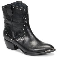 Shoes Women High boots Ikks BOTTES Black