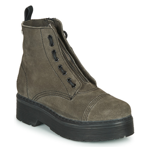 Shoes Women Mid boots Musse & Cloud ERICA Grey