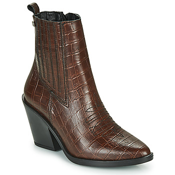 Shoes Women Ankle boots Musse & Cloud BRAD Brown