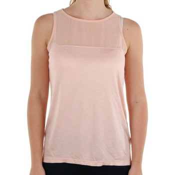 Clothing Women Tops / Sleeveless T-shirts adidas Originals Fasion Basic Tank Top Pink