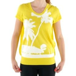 Clothing Women Short-sleeved t-shirts adidas Originals SW CU Ssl Yellow