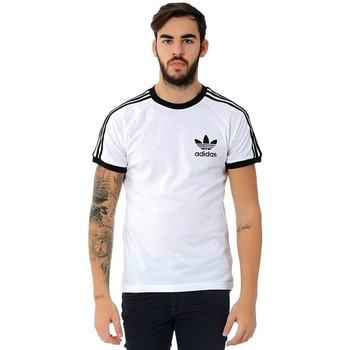 Clothing Men Short-sleeved t-shirts adidas Originals Originals Sport Essential White