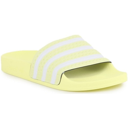 Shoes Women Water shoes adidas Originals Adilette W White,Yellow